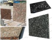Гранитная плитка,  натуральный камень
