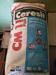 Продам клей для плитки Сеrezit CM 11 Plus